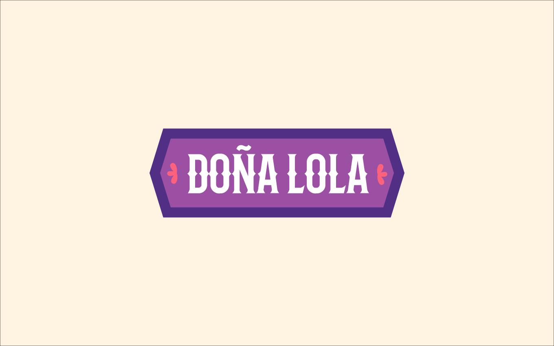 Secondary Doña Lola Logo