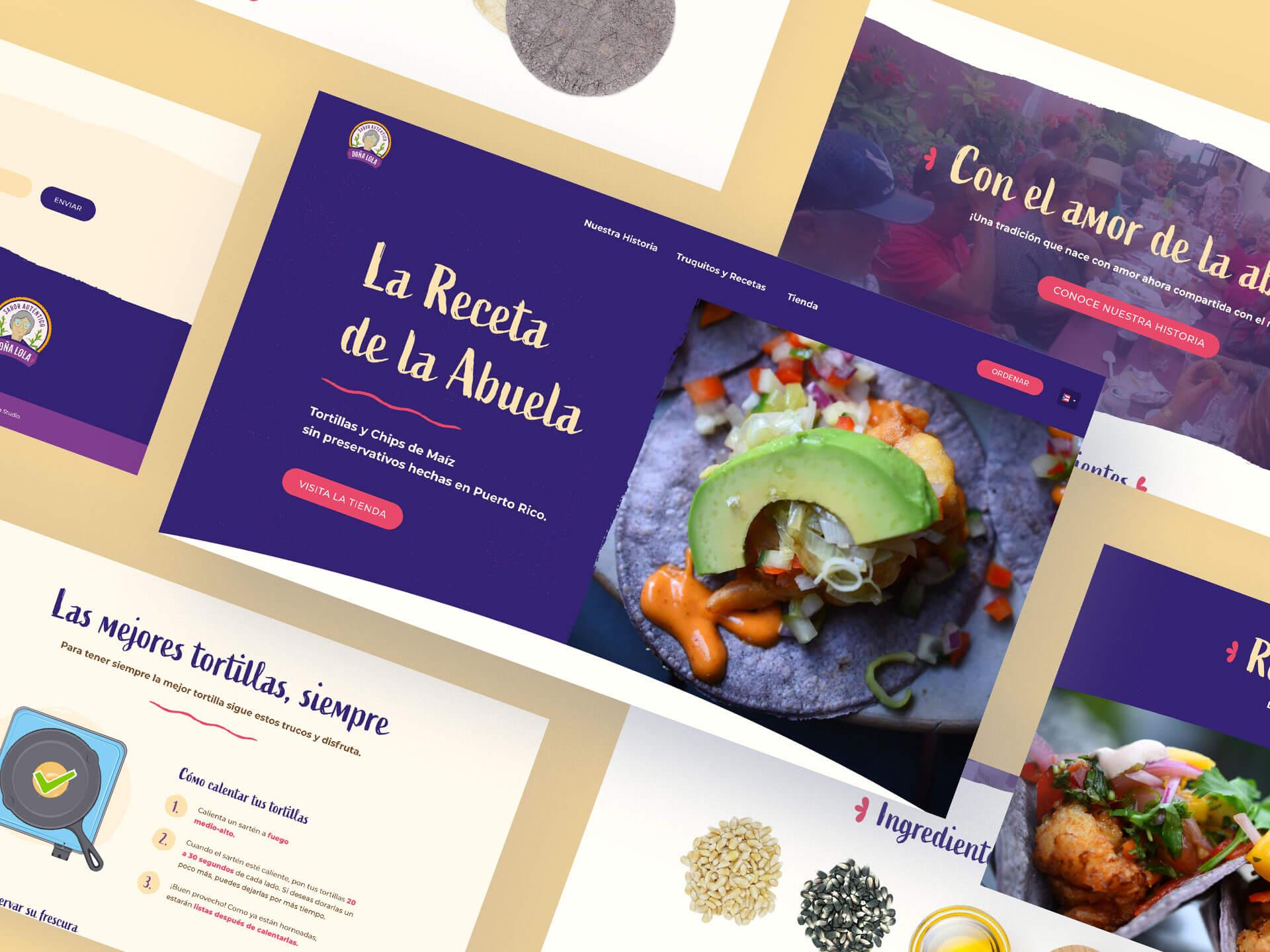 Doña Lola Website